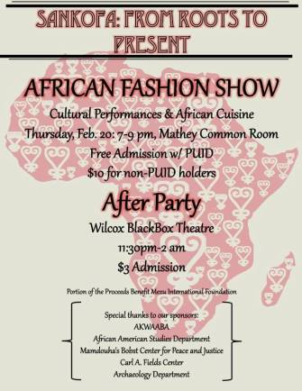 Princeton University's SANKOFA-From Roots to Present (African Fashion Showcase)