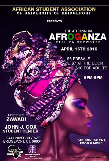University of Bridgeport ASA Presents The 4th Annual Afroganza Fashion Showcase 2016