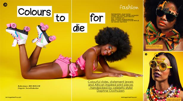 Nikki Billie Jean featured in %22Colours To Die For%22 Zen Magazine May 2014 Issue 2