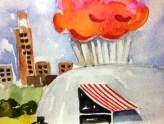 2013 5X7 Art Spluge Exhibit at AMOA/Jones Center - gift