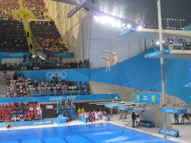 More diving