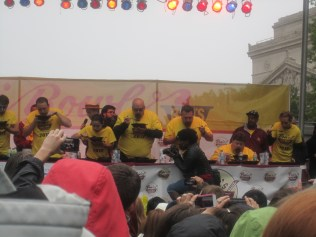 Chili eating competition