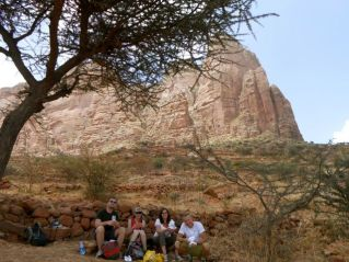 Ready to climb up...