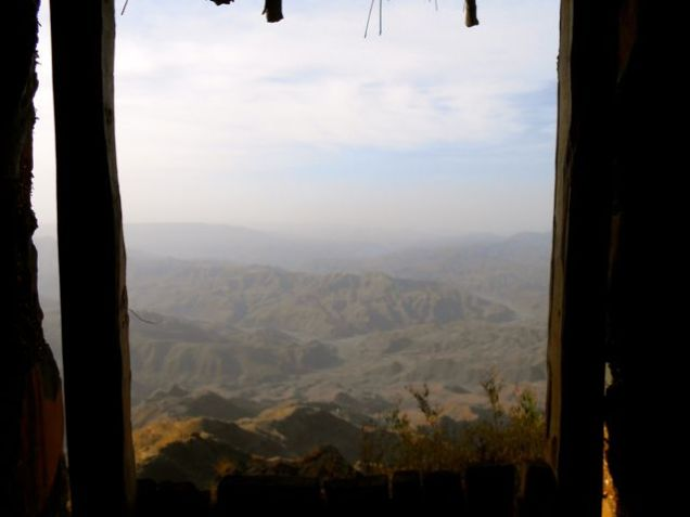 View from the loo