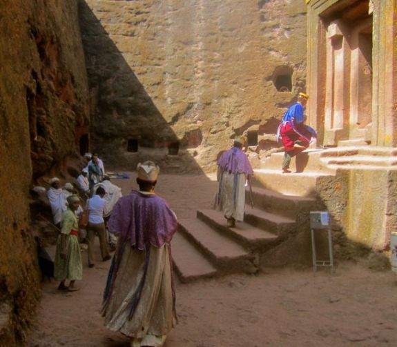 Priests at St George