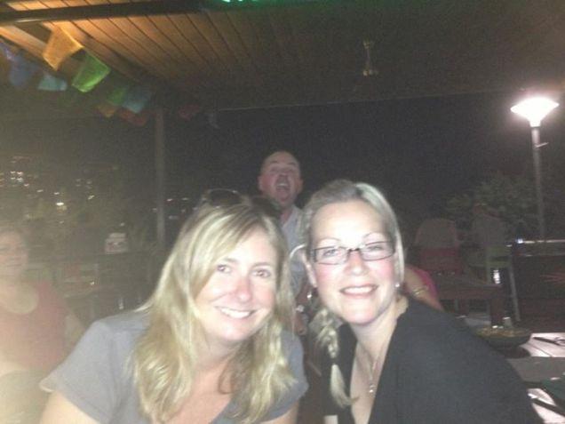 Narnie and I sanity pub night in Darwin
