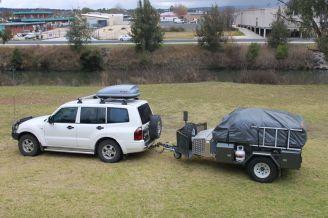 The camper trailer
