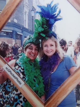 Girls doing it Carnival Style