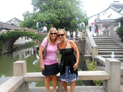 Steph and I in Shanghai