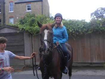 Horseriding in Wimbledon