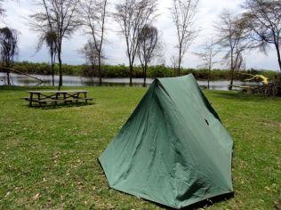 My camp at Lake Naivasha