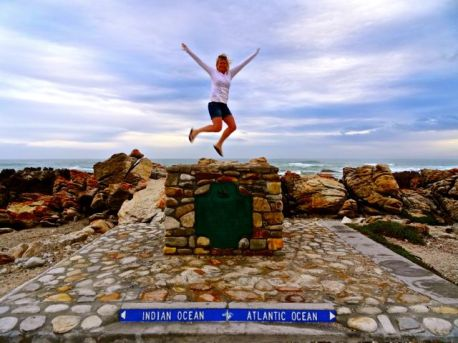 Cape Agulhas, southern-most tip of Africa