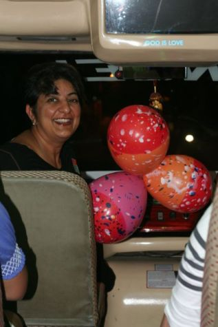 Amee and her Birthday Bus