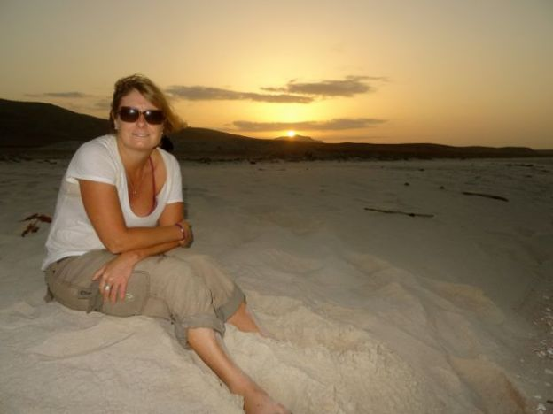 First of many beach sunsets in Socotra