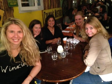London dinner with the girls