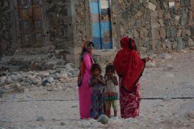 Colorful Socotran women