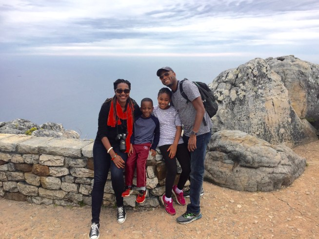 Table Mountain, Cape Town, South Africa. November 2016. Photo by Nikki A. Greene.