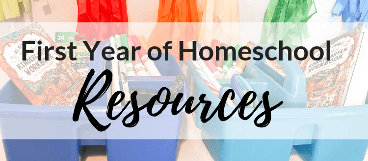 First Year of Homeschool Resources