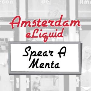 Amsterdam e-Liquid Spear A Menta