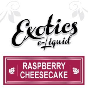 Raspberry Cheesecake e-Liquid, Exotics, Vape, Vaping, eJuices
