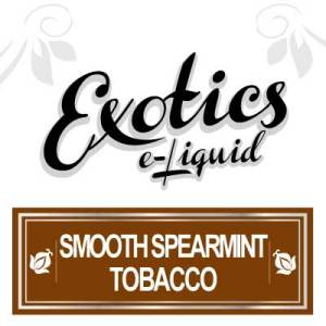 Smooth Spearmint Tobacco e-Liquid, Exotics, Flavours, Vape, Vaping, eJuice