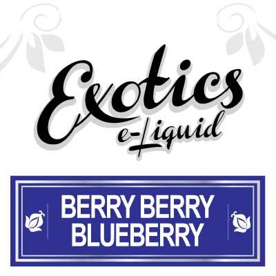 Exotics e-Liquid Berry Berry Blueberry