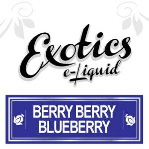 Berry Berry Blueberry e-Liquid, Exotics, Fruity, Fruit Flavours, Vape, Vaping, eJuice