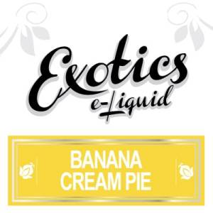 Banana Cream Pie e-Liquid, Exotics, eJuice, Vape, Vaping, Canada