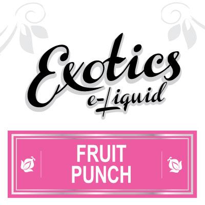 Fruit Punch e-Liquid, Exotics, eJuice, Vaping, Vape, eCig