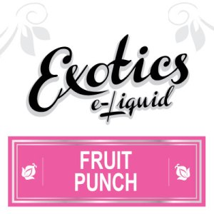Fruit Punch e-Liquid, Exotics, eJuice, Vaping, Vape, eCig