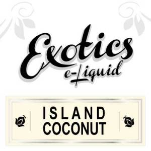 Island Coconut e-Liquid, Exotics, Vape, Vaping, eJuice