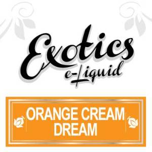 Orange Cream Dream e-Liquid, Exotics, Sweet Flavours, eCig, Vape, Vaping