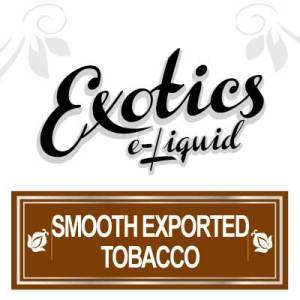 Smooth Exported Tobacco e-Liquid, Exotics, eJuice Flavours, eCig, Vaping, Vape