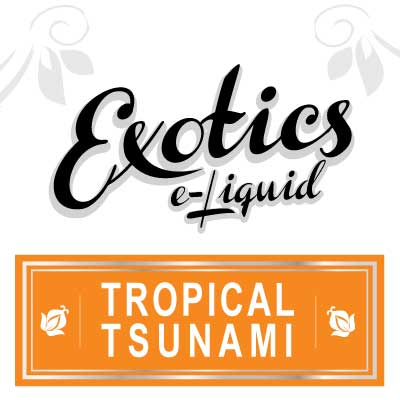 Tropical Tsunami e-Liquid, Exotics, Fruity, Fruit Flavours, eJuice, Vape, Vaping