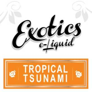 Tropical Tsunami e-Liquid, Exotics, Fruity, Fruit Flavours, eJuice, Vape, Vaping