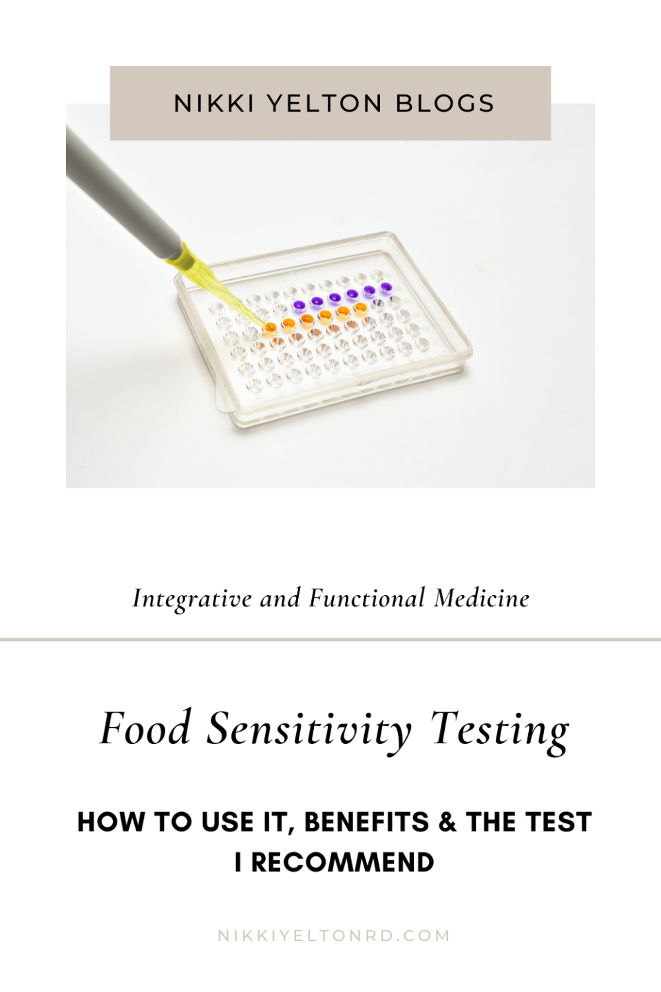 Food sensitivity testing in action