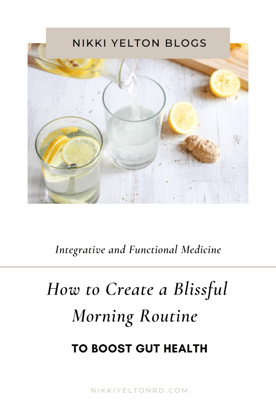 How to create a blissful morning routine to boost gut health