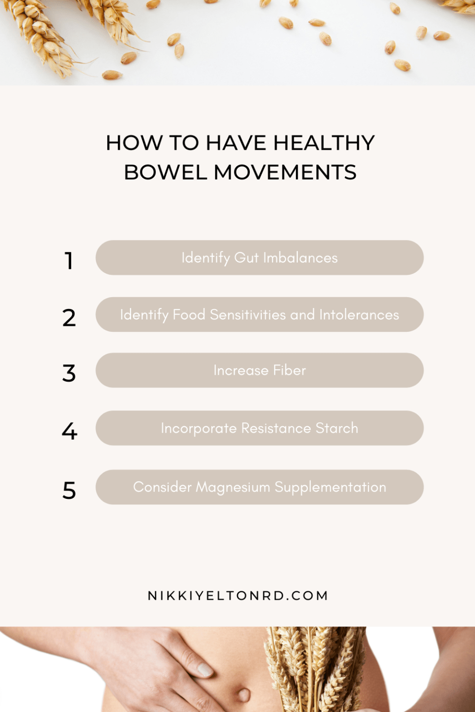 Suggestions on how to have healthy poop
