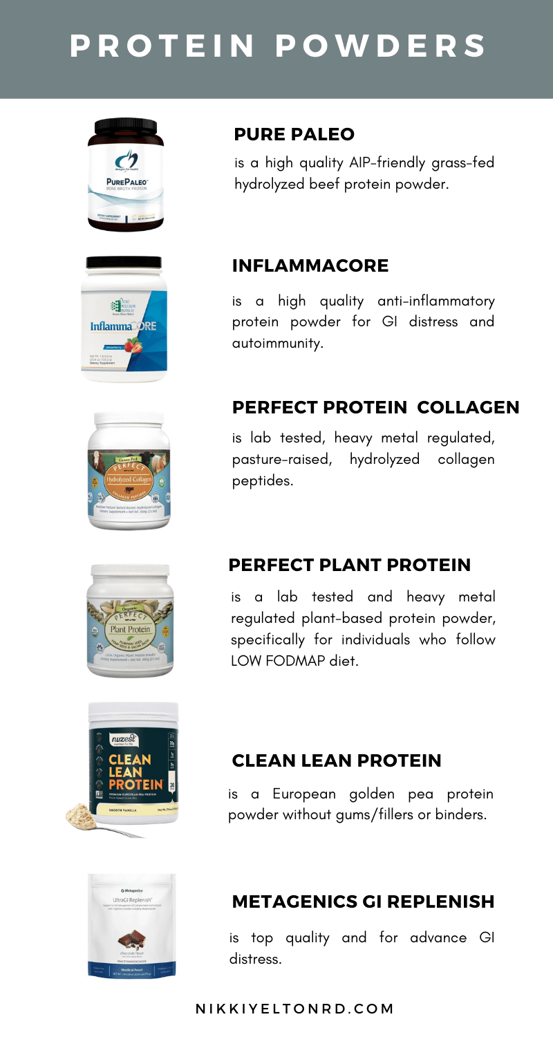 A guide to healthy protein powder options