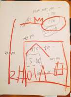 Basquiat notebook entry