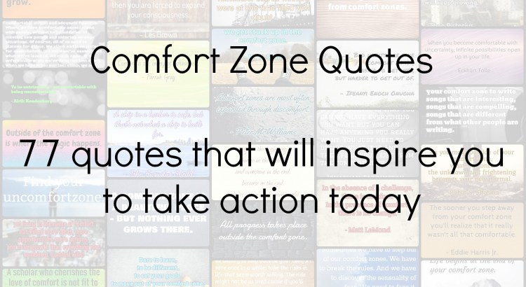 Comfort Zone Quotes Header