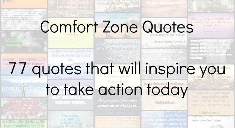 Comfort Zone Quotes Header