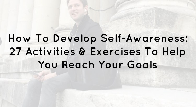 Self Awareness Activities Header