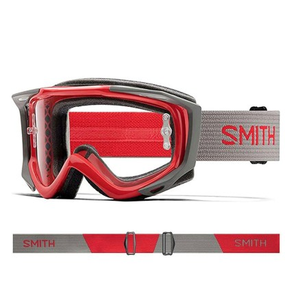 SMITH Fuel V2 Rise Split Single Clear