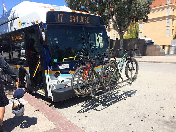 Mixed terrain bikepacking from San Francisco to Santa Cruz