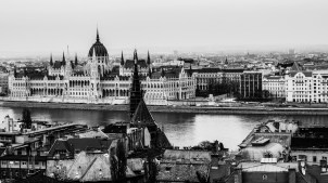 Budapest from above
