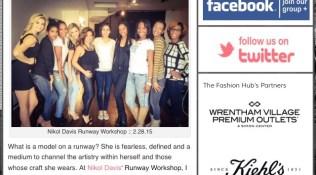 The Fashion Hub's Runway Workshop Write-Up!