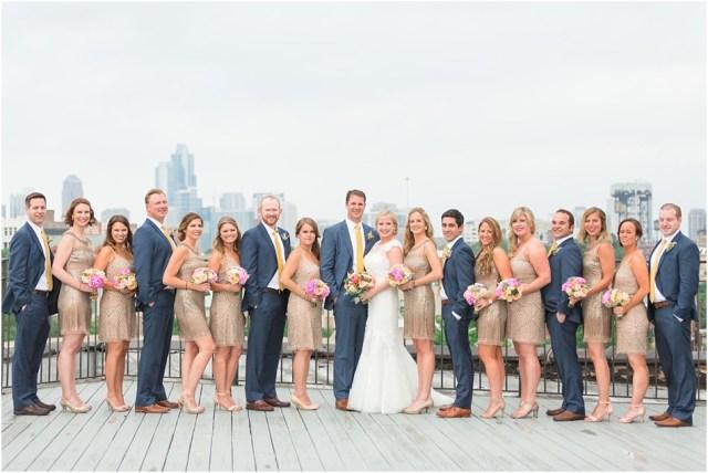 Laucuna Artist Lofts Chicago Wedding
