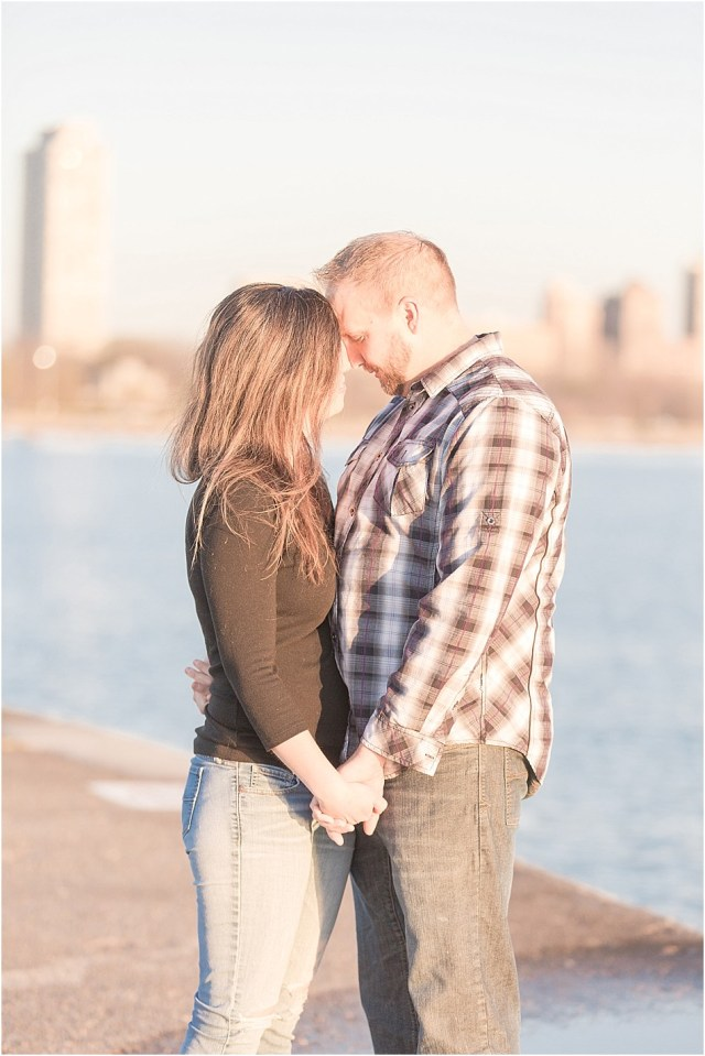 North Avenue Beach Engagement