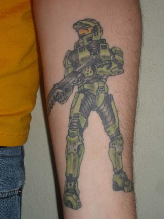 I would tattoo